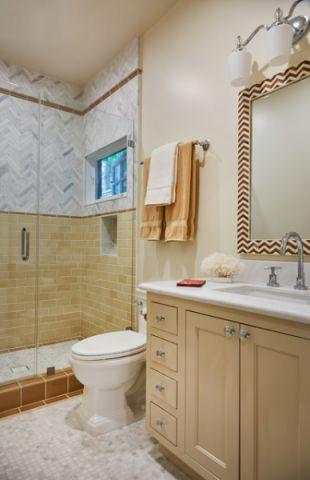 干净舒适美式风格浴室装修效果图_土拨鼠2017装修图片大全