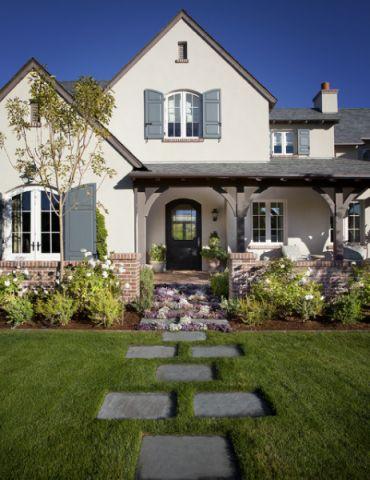 优雅时尚美式风格花园装修效果图_土拨鼠2017装修图片大全