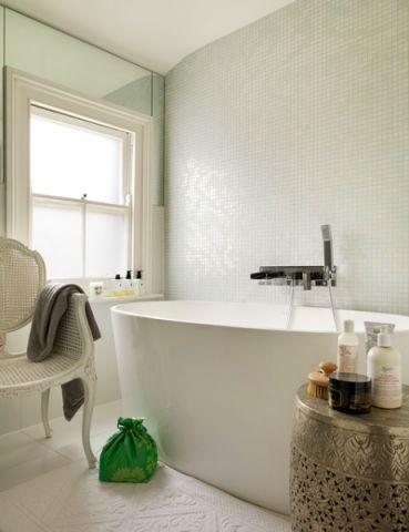 卫生间细节美式风格装修设计图片