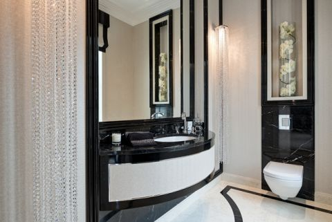 卫生间吧台美式风格装潢图片