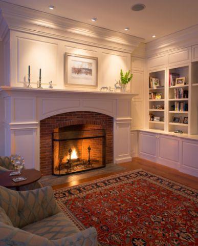 客厅橱柜美式风格装饰效果图
