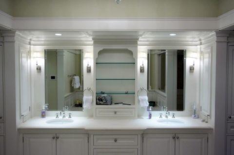 卫生间橱柜美式风格装饰图片