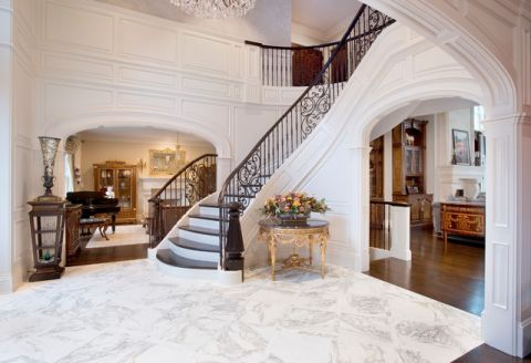 2019美式120平米装修效果图片 2019美式二居室装修设计