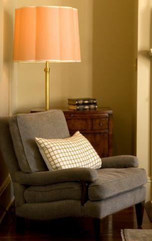 卧室黄色沙发简欧风格装饰效果图