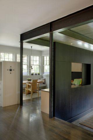 玄关白色门厅简欧风格装修图片