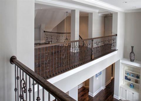 阳台白色楼梯简欧风格装修设计图片