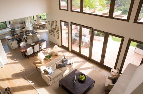 客厅白色沙发简欧风格装饰效果图