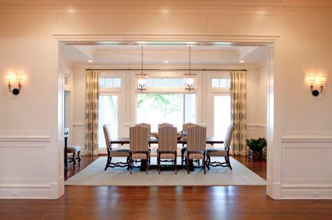 玄关白色门厅简欧风格效果图