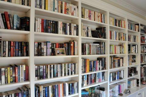 书房书架简欧风格装饰图片