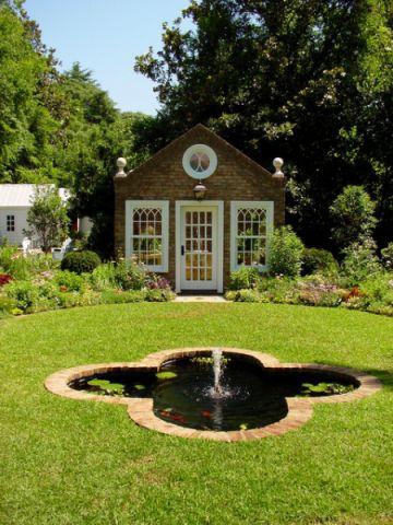 浪漫迷人简欧风格花园装修效果图