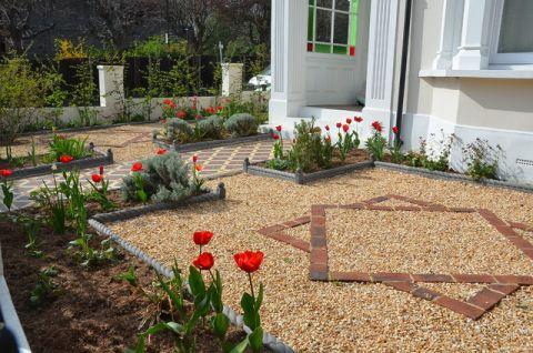 花园细节简欧风格效果图