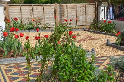 花园细节简欧风格装饰效果图