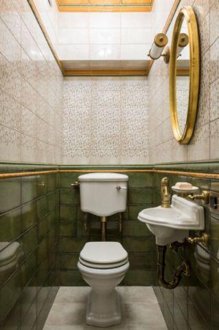 井井有条简欧风格浴室装修效果图_土拨鼠2017装修图片大全