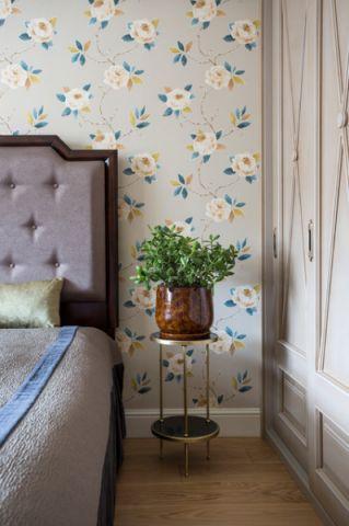 卧室床头柜简欧风格装潢效果图