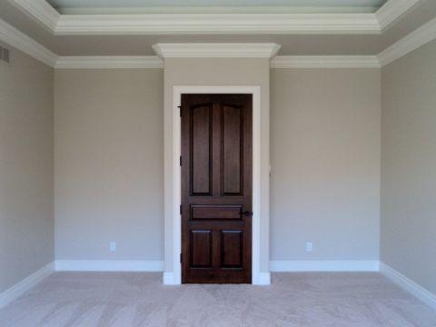 卧室白色门厅简欧风格装饰设计图片