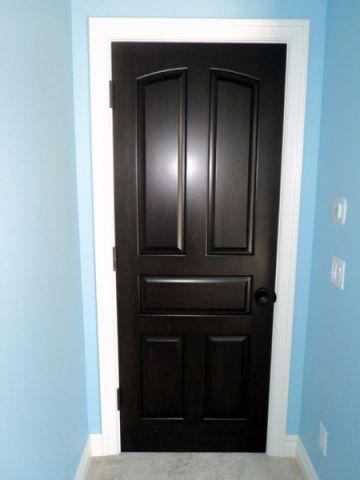 卧室蓝色门厅简欧风格装潢设计图片