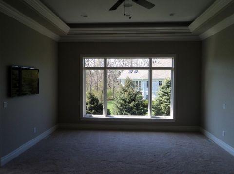 卧室白色窗台简欧风格效果图
