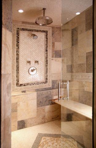 卫生间黄色细节简欧风格装饰设计图片