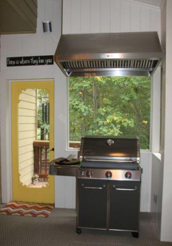厨房灰色细节混搭风格装潢效果图