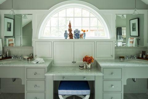 卫生间混搭风格装饰图片
