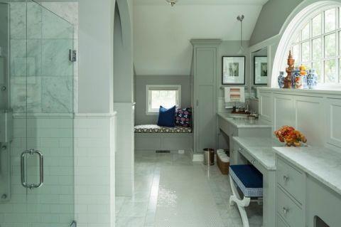 卫生间混搭风格装潢图片