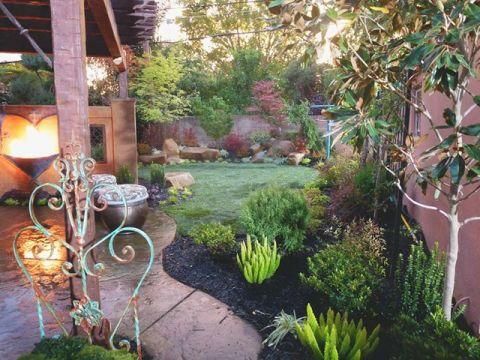花园混搭风格装修效果图