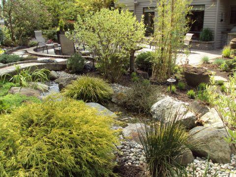花园混搭风格装饰图片