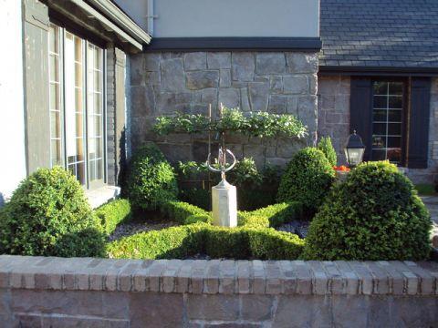 花园混搭风格装饰设计图片