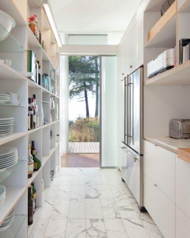 充满活力现代风格厨房装修效果图_土拨鼠2017装修图片大全