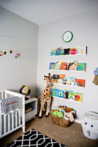 典雅现代风格儿童房装修效果图_土拨鼠2017装修图片大全