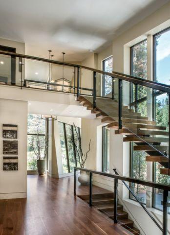 楼梯现代风格装修效果图