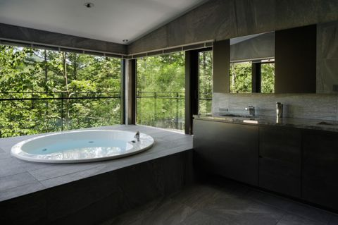 充满活力现代风格浴室装修效果图_土拨鼠2017装修图片大全