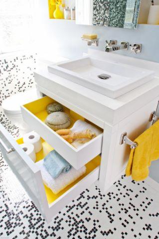 时尚创意现代风格浴室装修效果图_土拨鼠2017装修图片大全