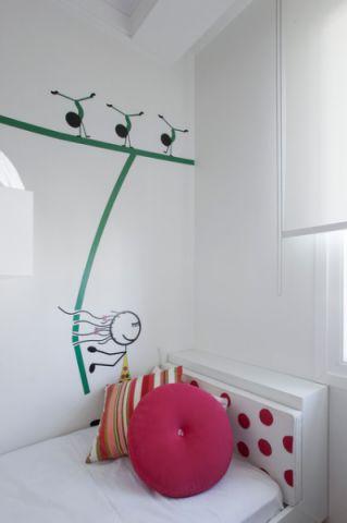 儿童房现代风格装修效果图