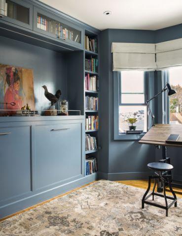 书房现代风格装饰图片