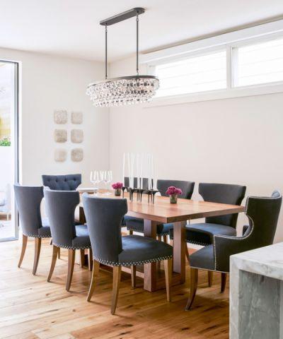 餐厅现代风格装潢设计图片