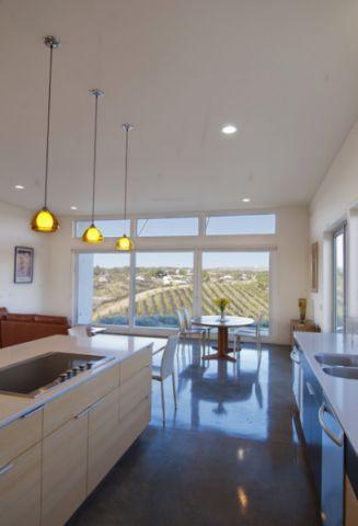 厨房现代风格装潢效果图