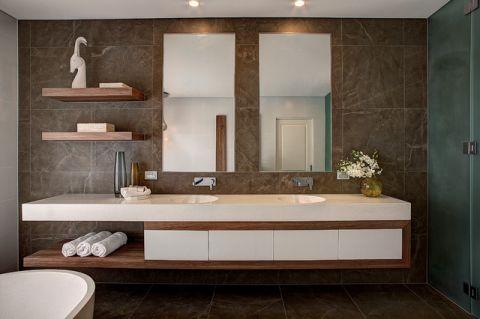格调现代风格浴室装修效果图_土拨鼠2017装修图片大全