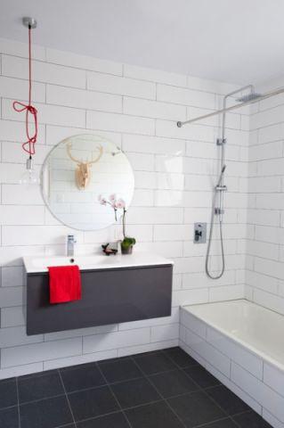 温暖现代风格浴室装修效果图_土拨鼠2017装修图片大全