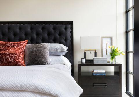 卧室现代风格装潢效果图