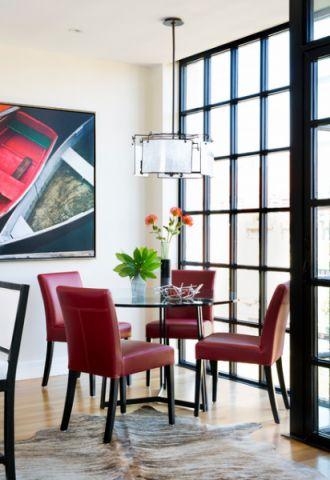 餐厅现代风格装潢图片