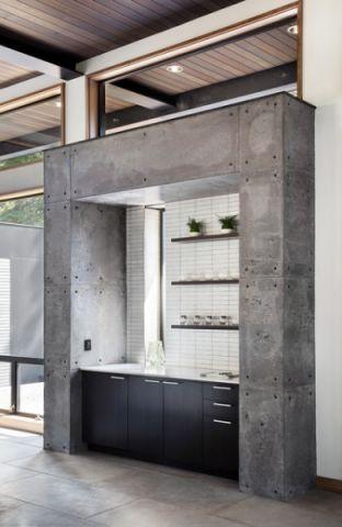 吧台现代风格装潢设计图片