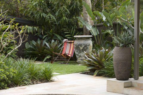唯美现代风格花园装修效果图_土拨鼠2017装修图片大全