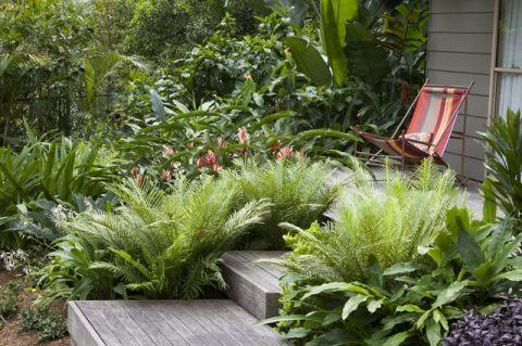 花园现代风格装潢效果图