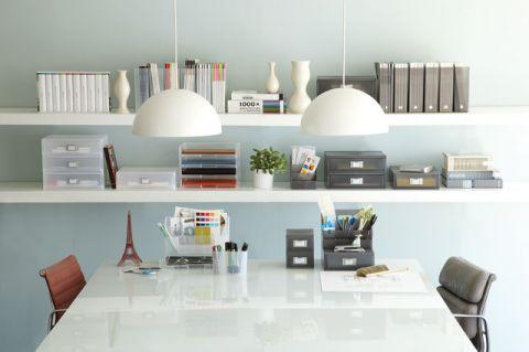 书房现代风格装潢图片