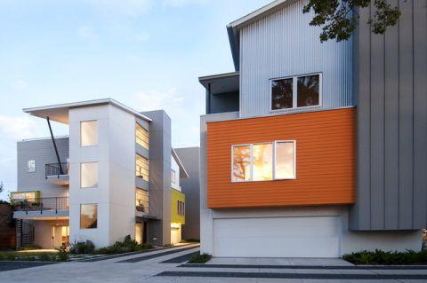 外墙现代风格装潢设计图片