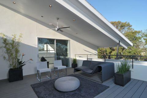 阳台现代风格装修效果图