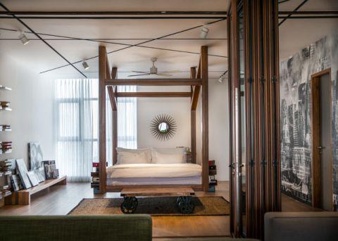 卧室现代风格装修设计图片