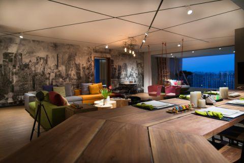 餐厅现代风格装饰图片