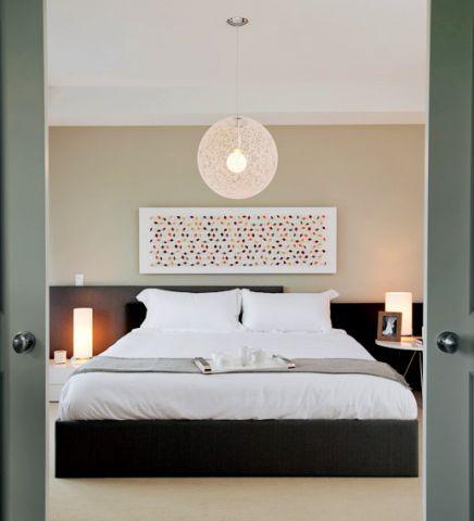 卧室现代风格装饰效果图